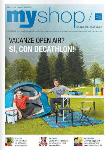 myshop magazine Luglio Agosto 2016