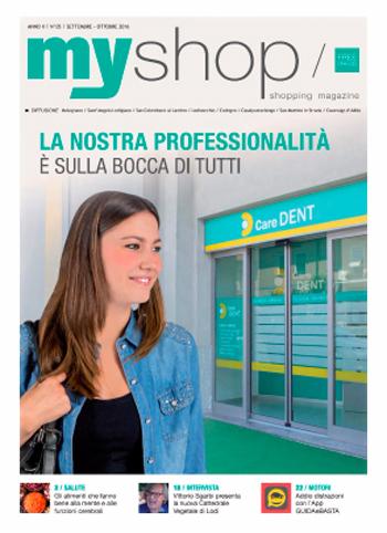 myshop magazine Settembre Ottobre 2016