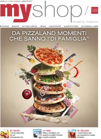 Myshop magazine Lodi Pizzaland Pizza Cornegliano Laudense San Rocco al Porto