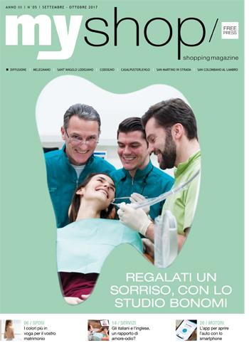 Myshop magazine Lodi Studio Bonomi Tavazzano con Villavesco dentista